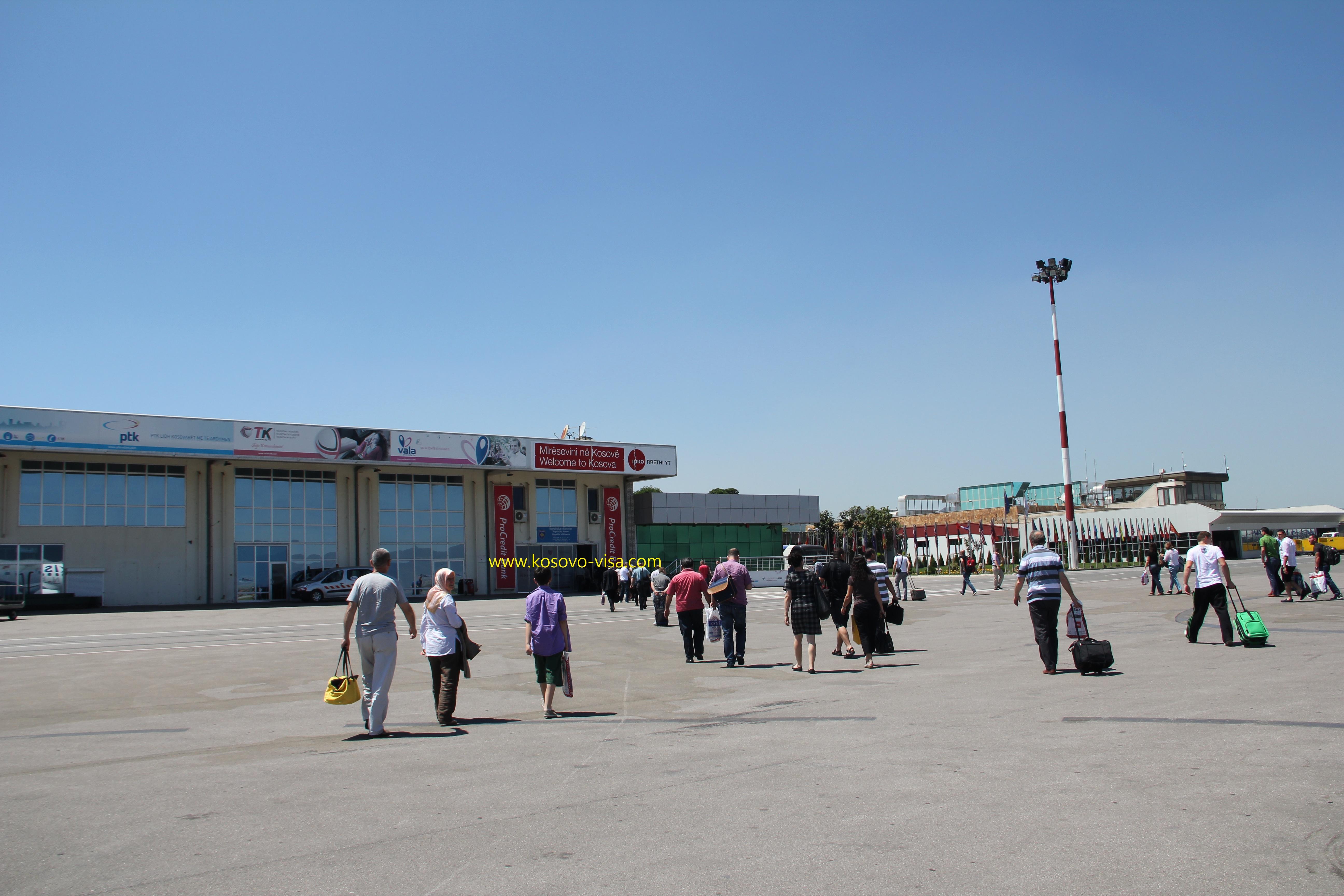 Kosovo: Pristina International Airport